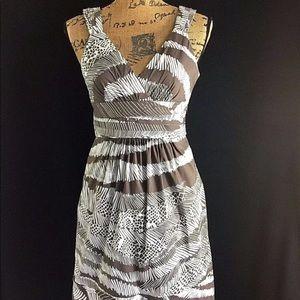 NEW BCBG Max Azria 2 Small Cocoa Brown Dress